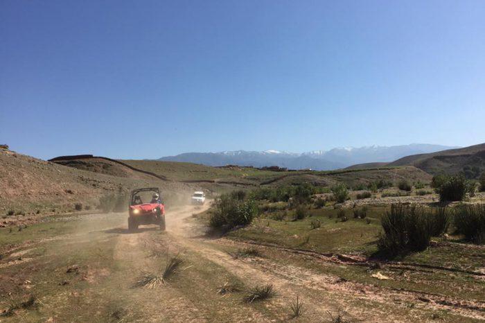 Circuit Buggy 3 Jours: Atlas et Desert D'Agafay