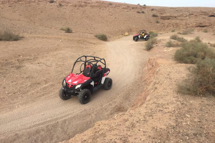 Buggy Circuit Barrage Lalla Takerkoust une journée