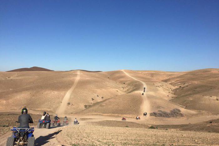 Circuit Quad 3 Jours: Atlas et Desert D'Agafay